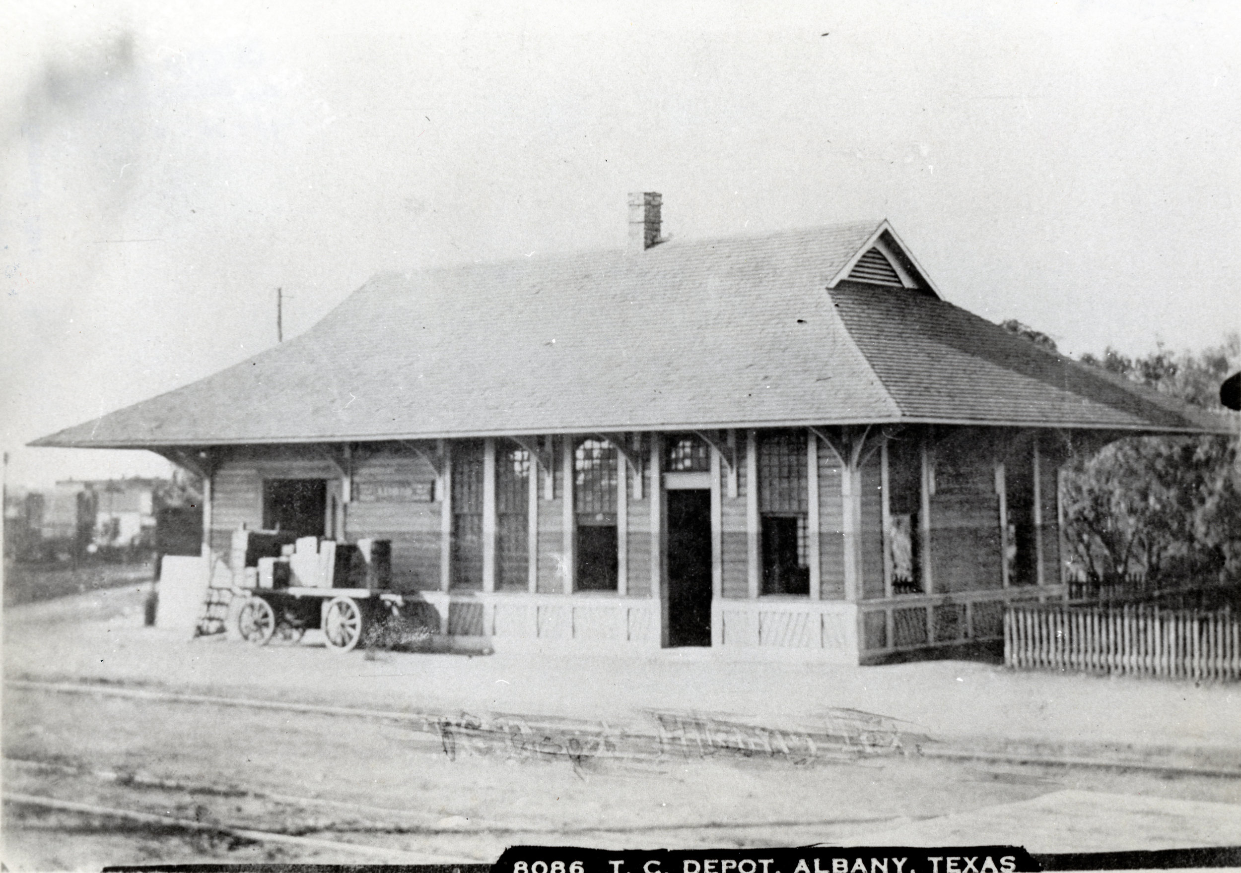Texas Central Depot in Albany TX, Undated.jpg