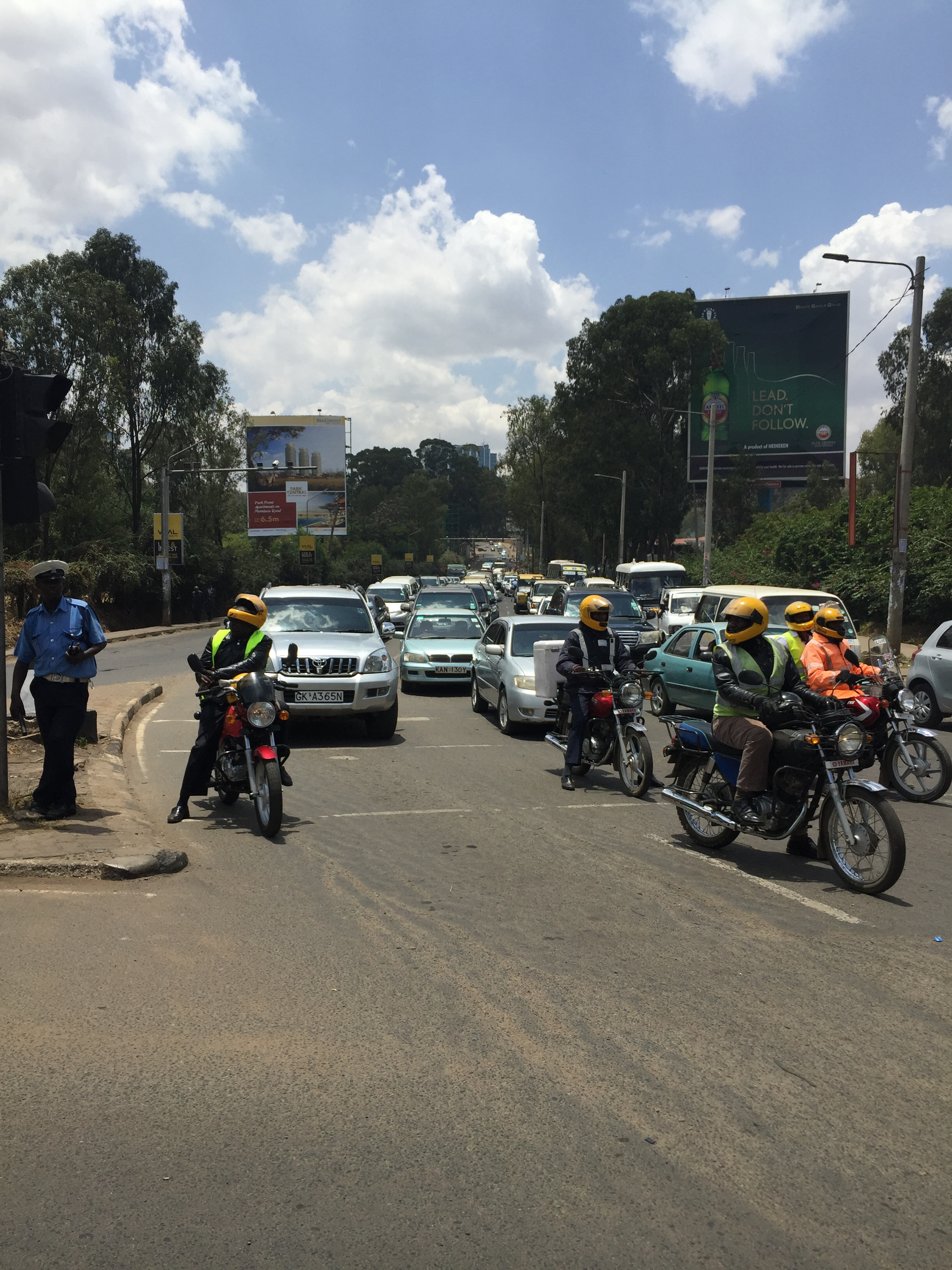 After the flight we return to the other wild part of Kenya - the Nairobi streets.
