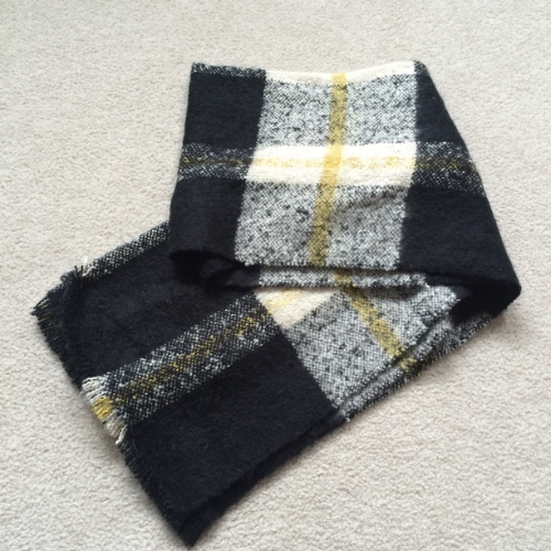joe fresh stiped scarf brittany lauren
