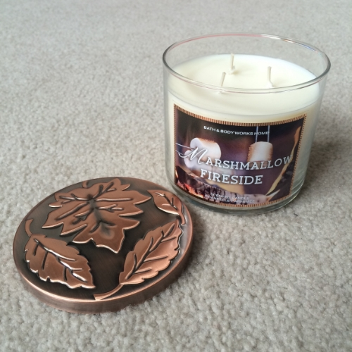 bath and body works candle marshmallow fireside brittany lauren