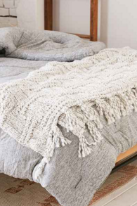 Seed Stitch Blanket, $154 (Urban Outfitters)