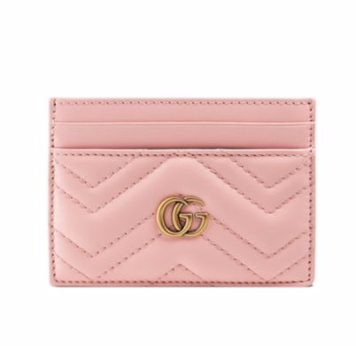 Gucci Quilted Leather Card Case, $320