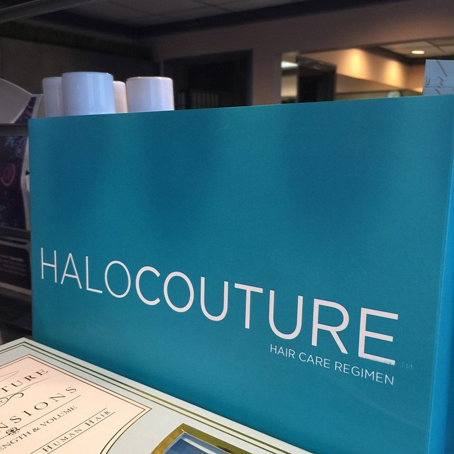 Did you know we do #halocouture #extensions? Visit us in #Irvine - just around the corner from John Wayne Airport.