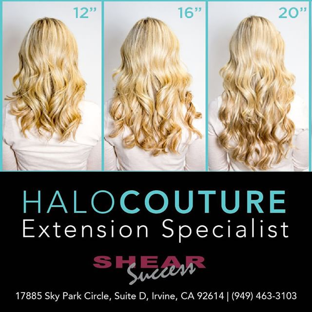 We are your HaloCouture Extensions Specialist. Call today to make an appointment or place an order (714) 463-3103. We are located in #Irvine #California