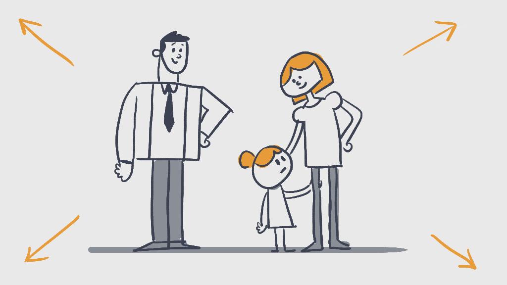 looking to mum- reassurance