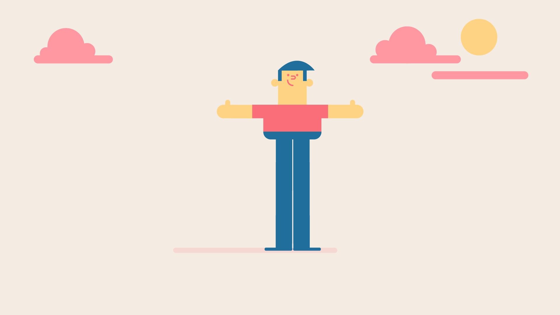 Health Insurance character design