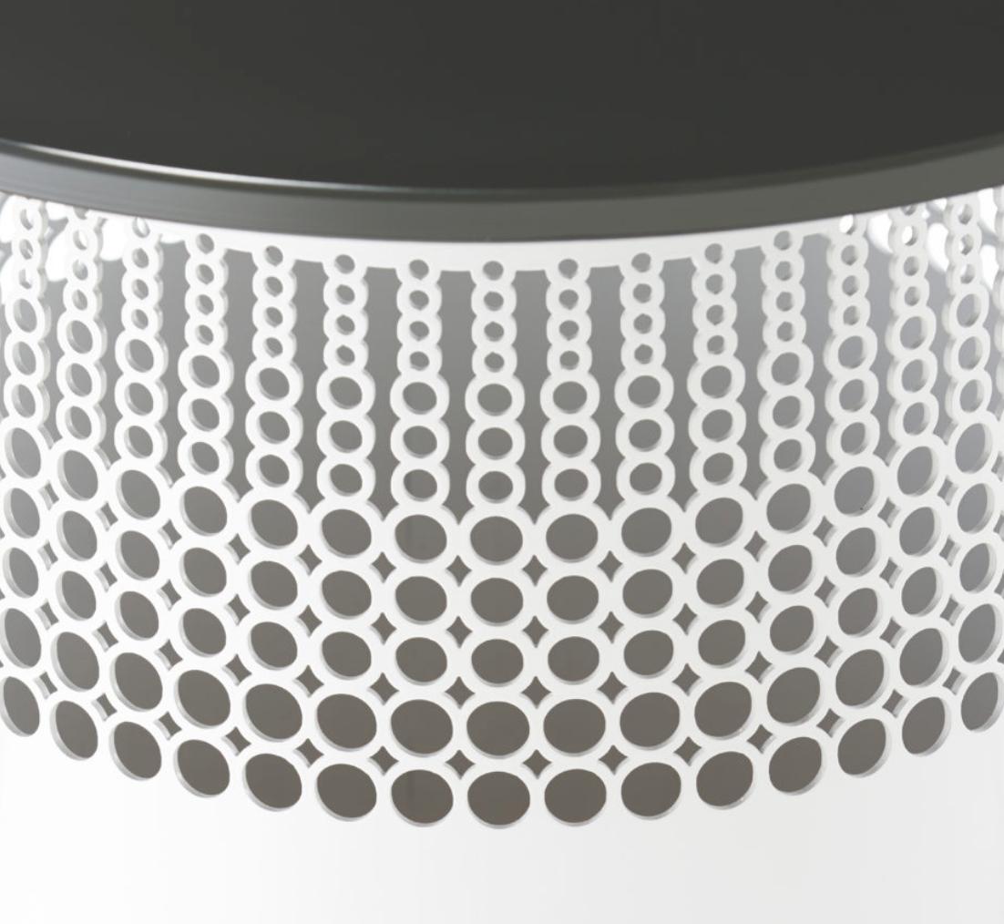 Cumberland Furniture Cuff metal polka detail