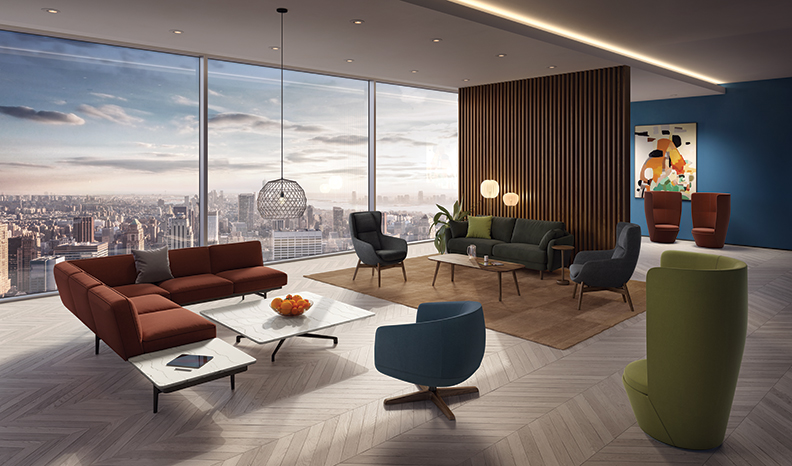 Unveiled at NeoCon 2019, Elevate is designed for people