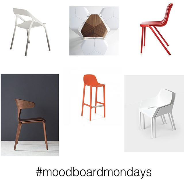 Chairs that take a simple idea and elevate it.