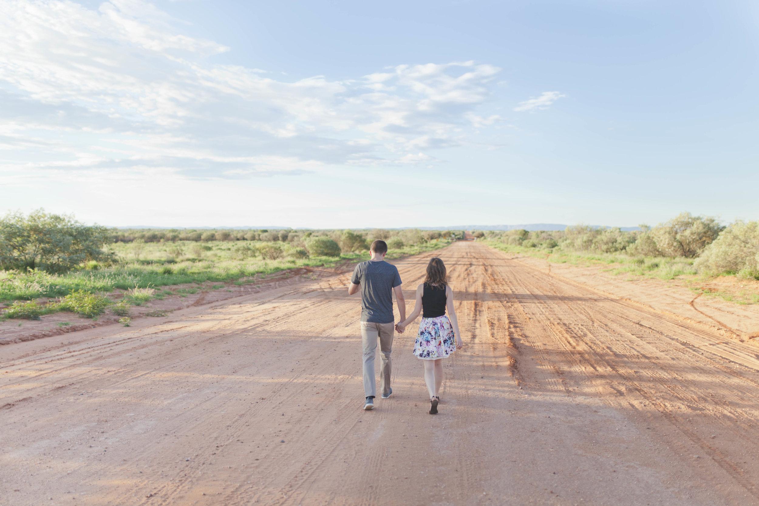 Red Desert Road - Alice Springs