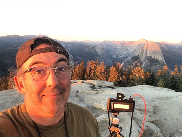 This is why your film ain't Done. Jim's first trip to #yosemite #halfdome #sentinaldome  #linhof612