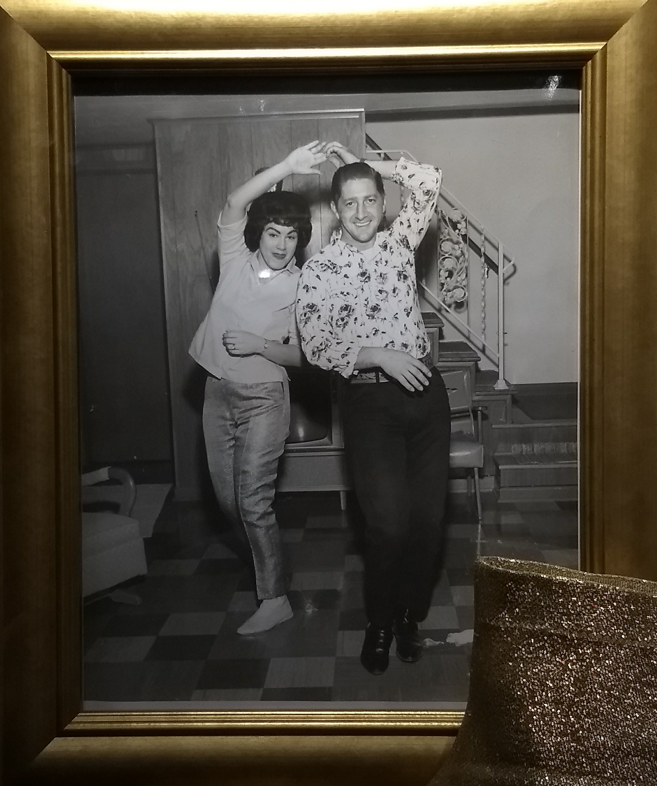 Patsy Cline with second husband Charles Allen Dick