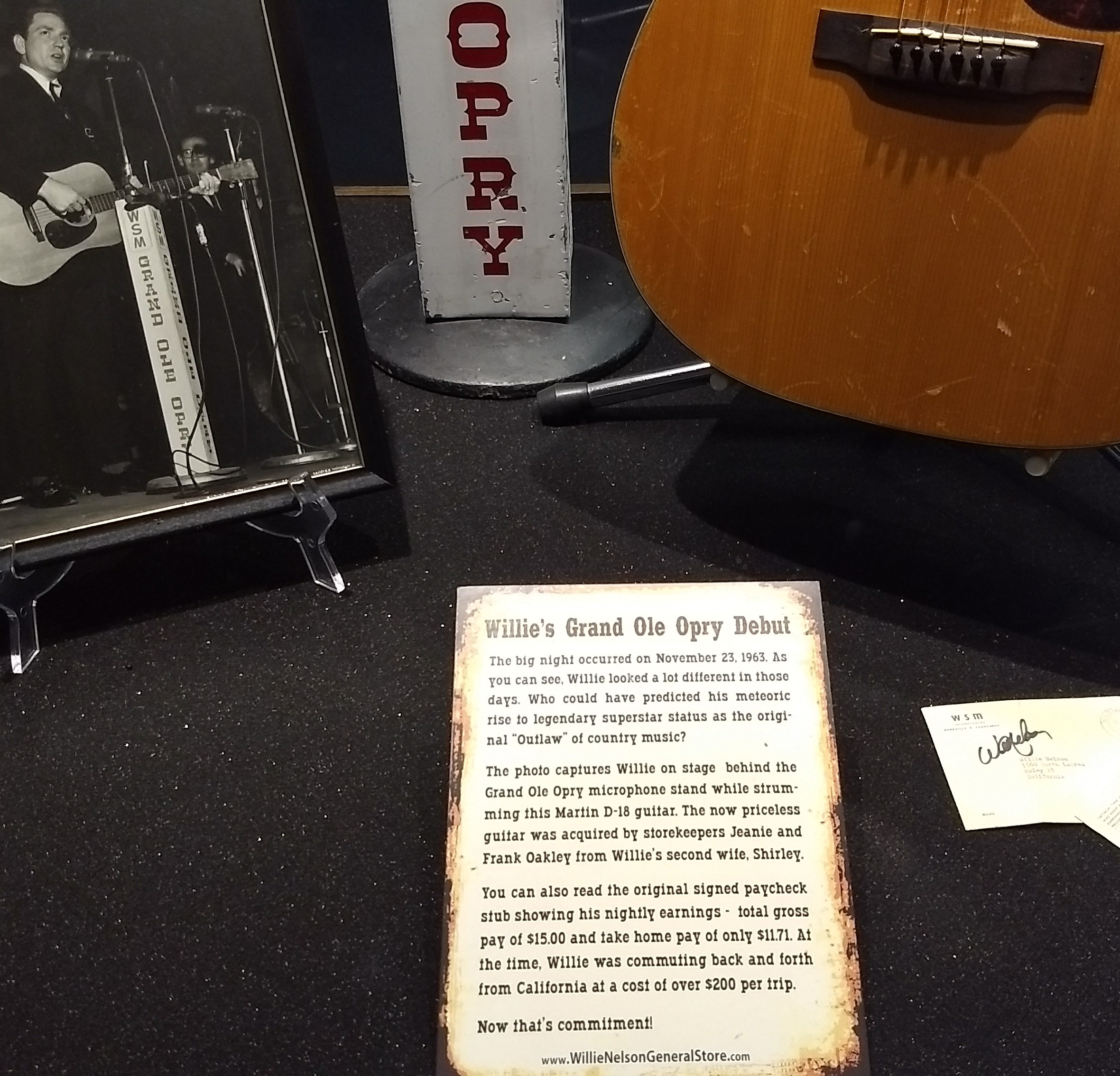 Willie Nelson's Opry debut