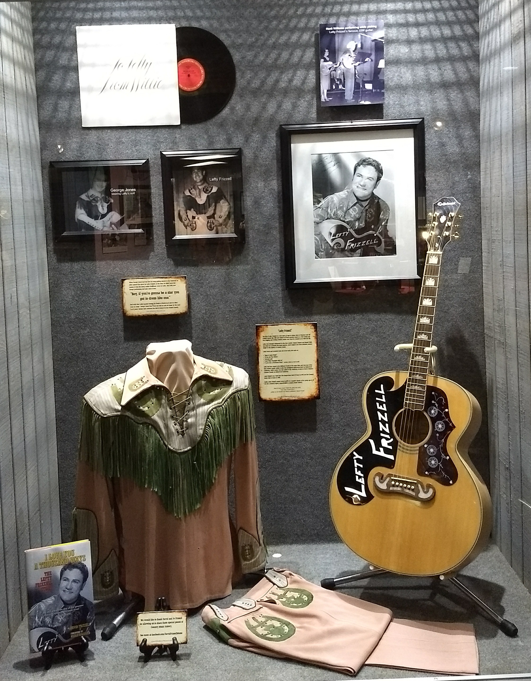 Cool little Lefty Frizzell display