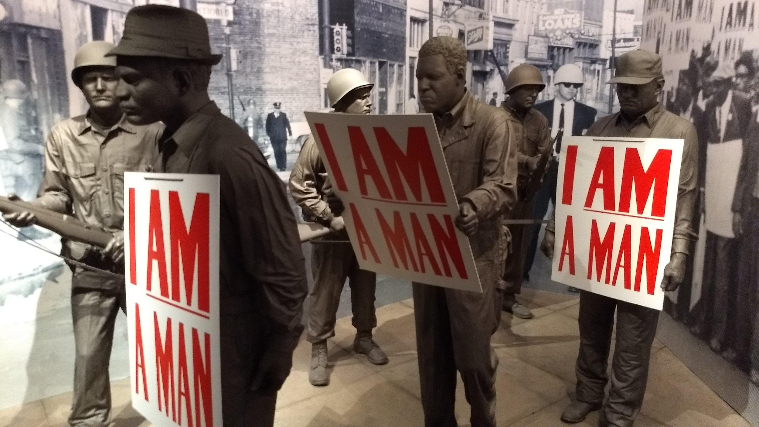 Sanitation workers strike in Memphis