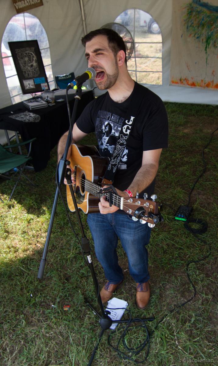 Josh Gray at Nebulosity Fest