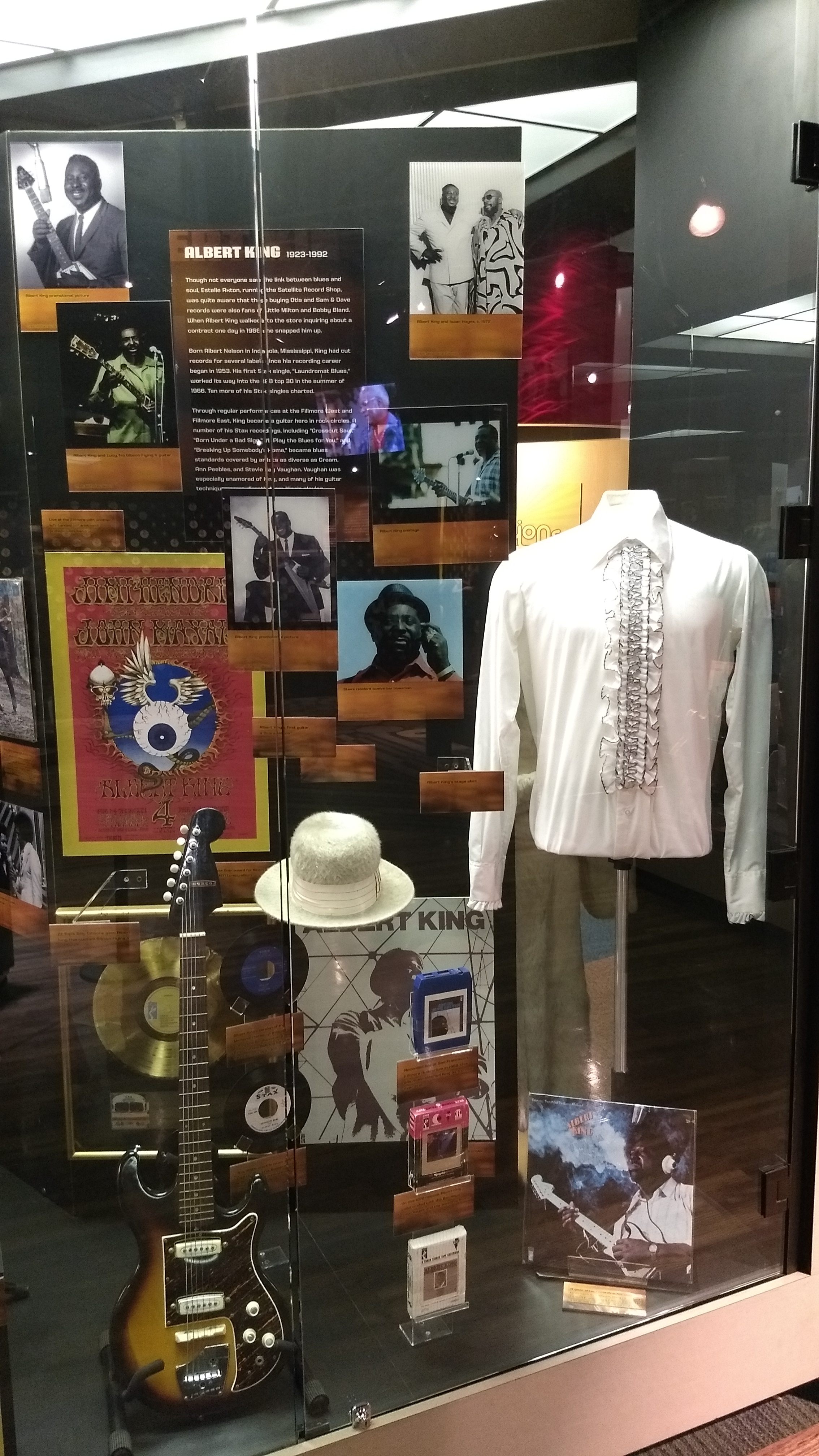 Albert King exhibit