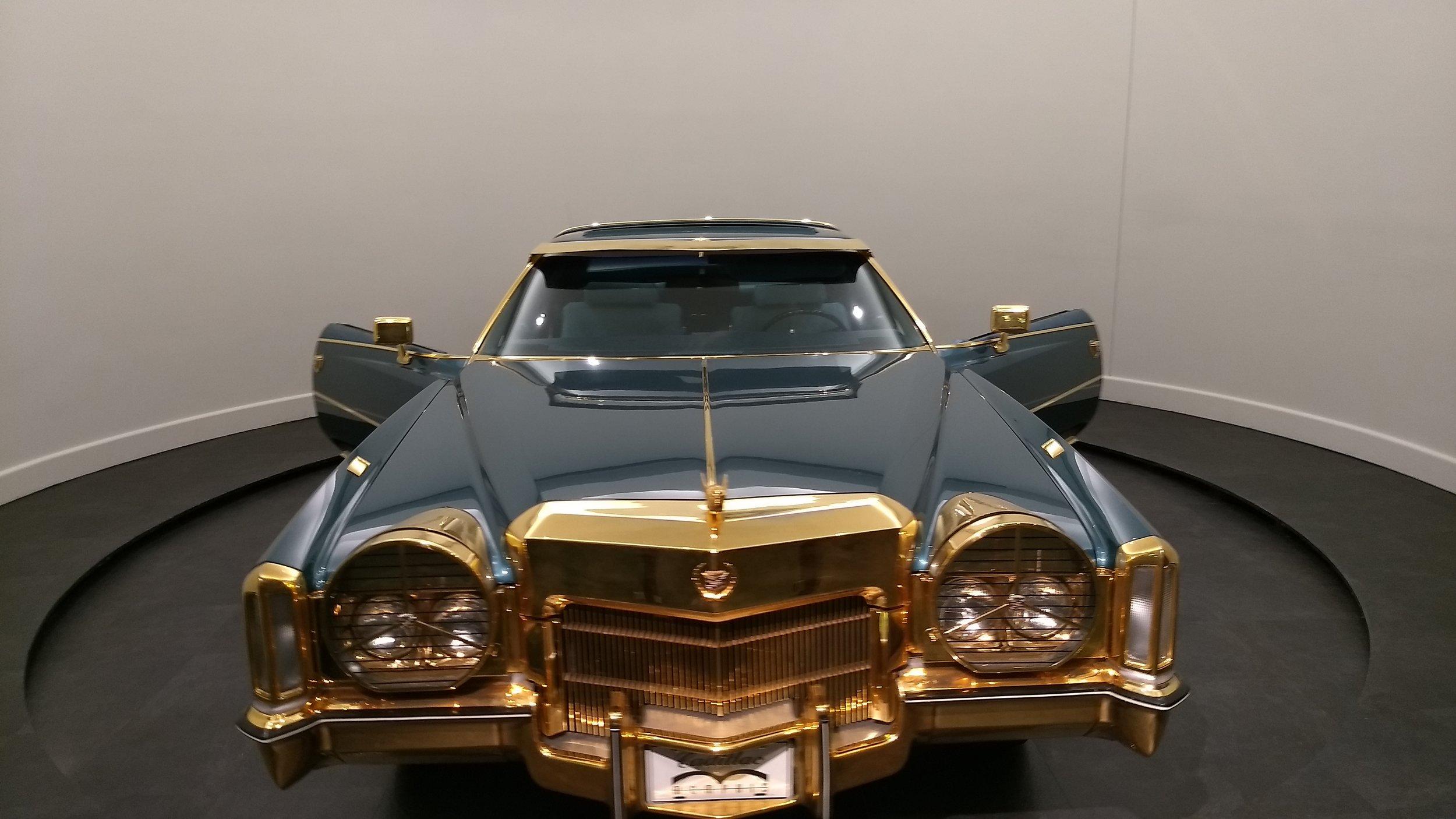 Isaac Hayes' gold Cadillac