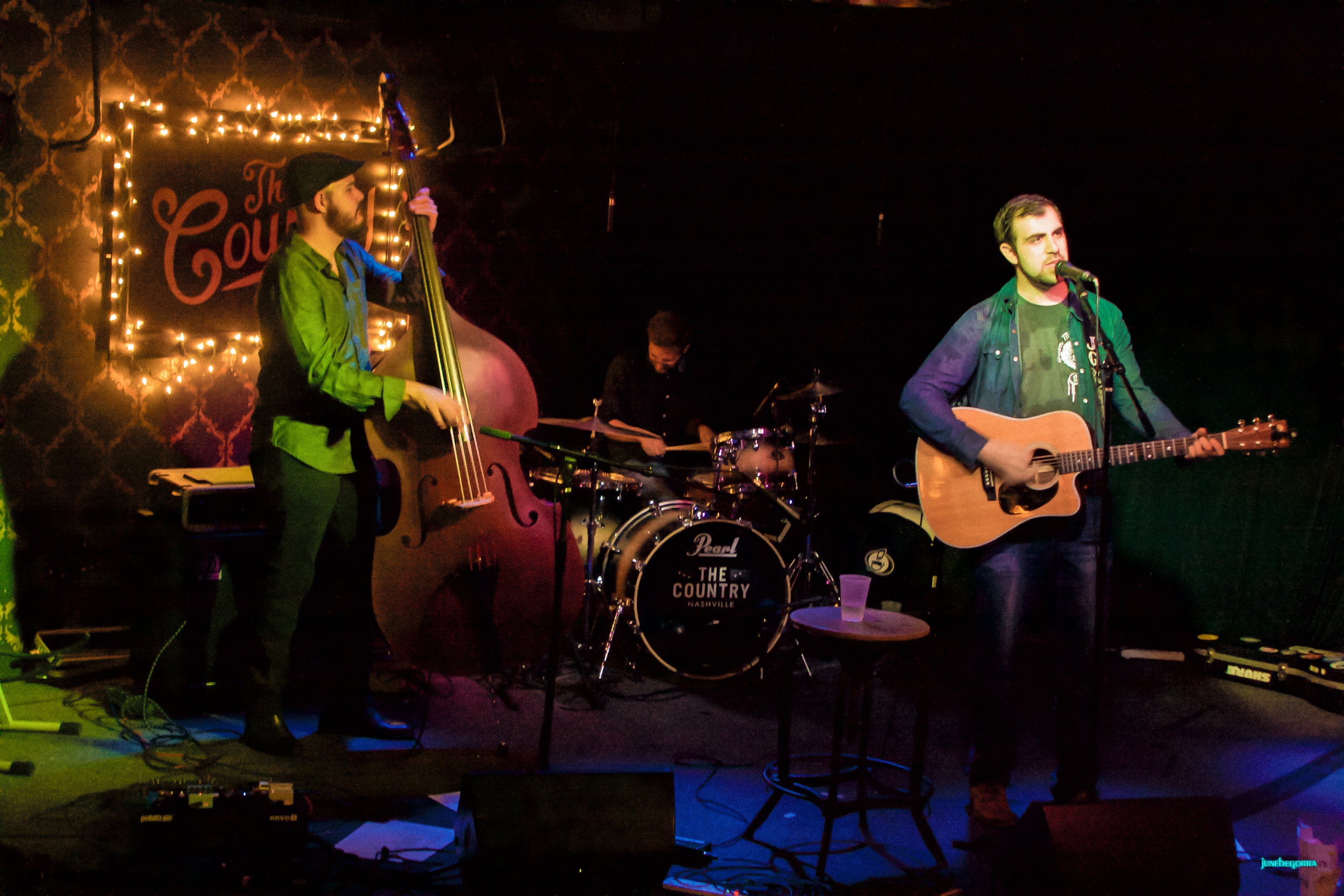 Josh Gray and The Dark Features at The Country Nashville