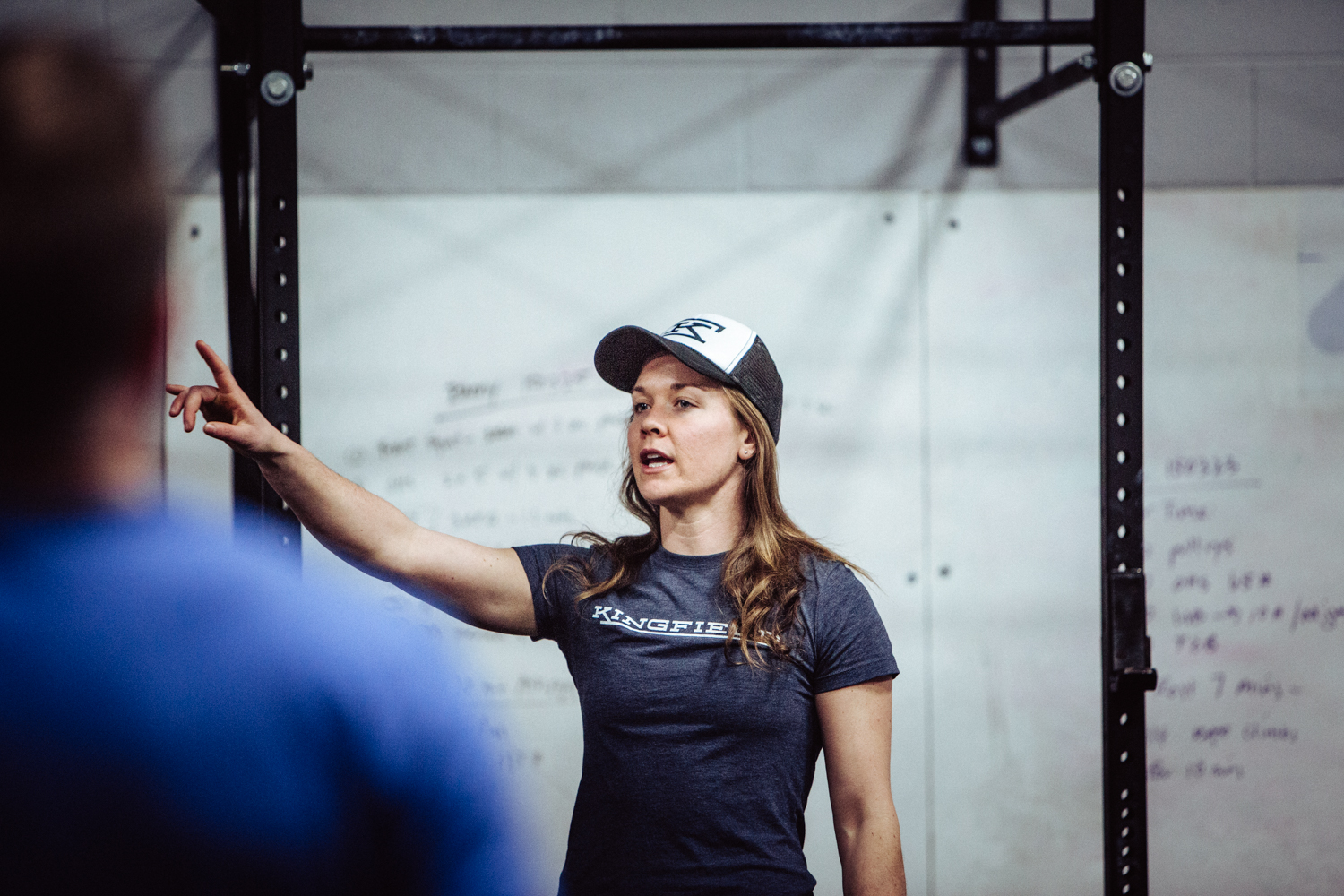 """""""You may catch a glimpse of how CrossFit and marathoning married in my mind. While the physical demands are  very different, the mental challenge they both pose fuels my competitive and intense nature."""""""