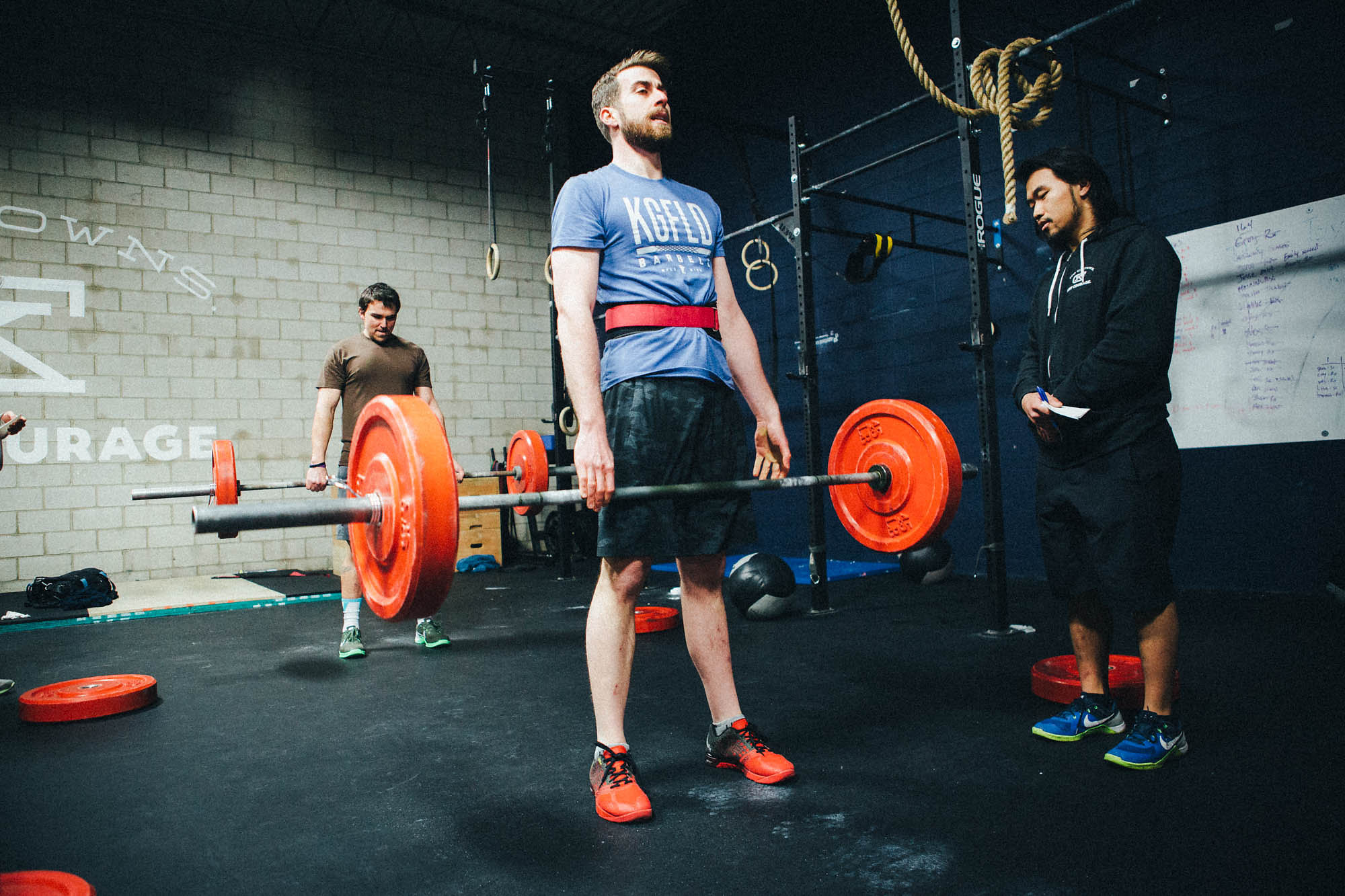 """""""I continued [CrossFit] because it has helped me be in the best shape of my life. It also introduced me to an amazing community here in Minneapolis and around the country. My life in this city began once I started going to CrossFit."""""""
