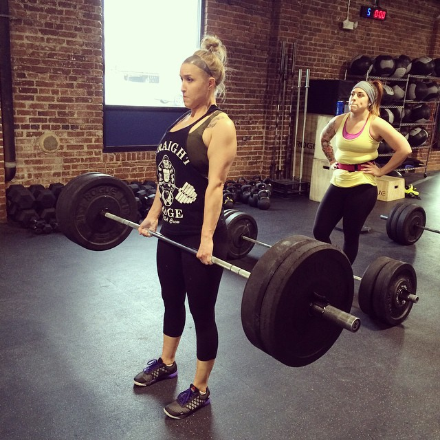 Before she was a Kingfield, Amanda did CrossFit at Double Edge CF in Reno, NV.