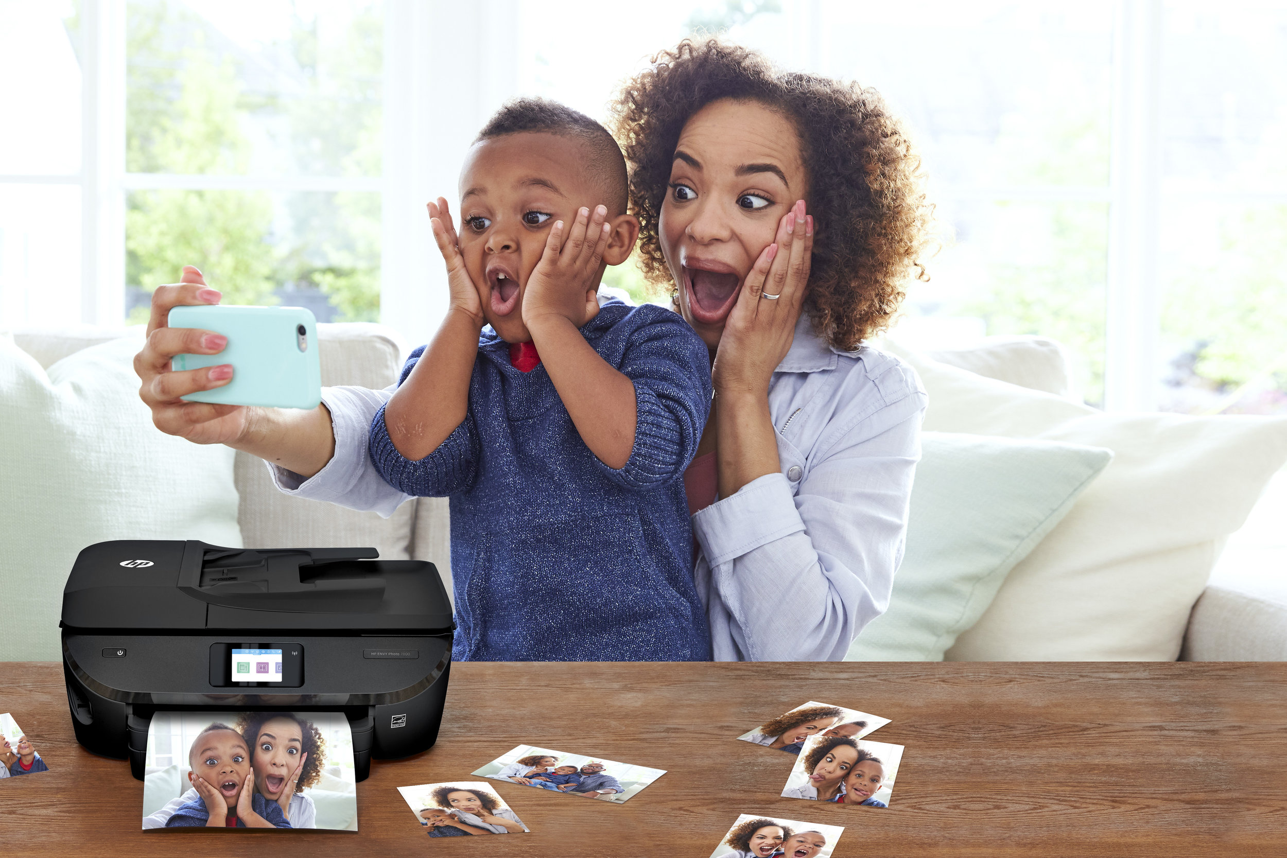 HP ENVY Photo Printers webpage, design & content strategy