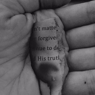 doesn't matter forgive continue to do His truth