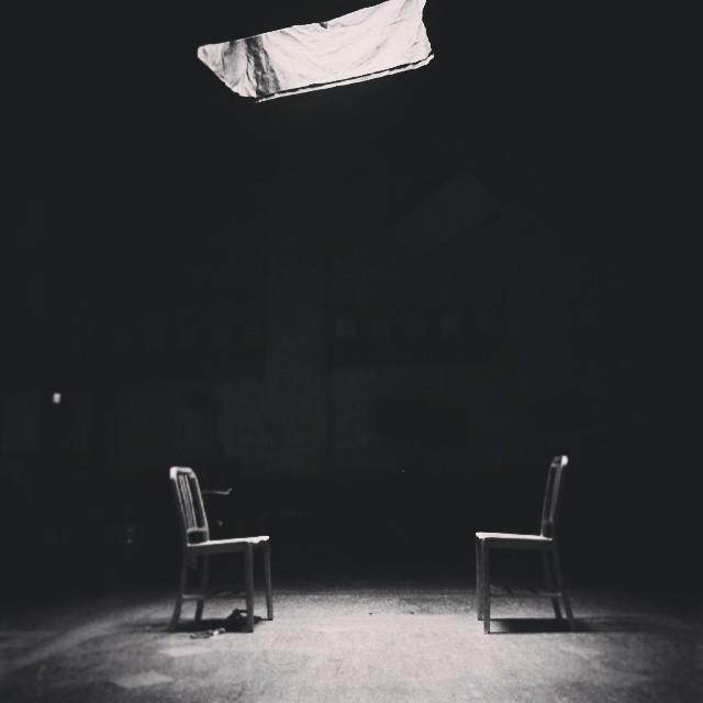 In Between setups with James Van Der Beek and Katee Sackhoff.