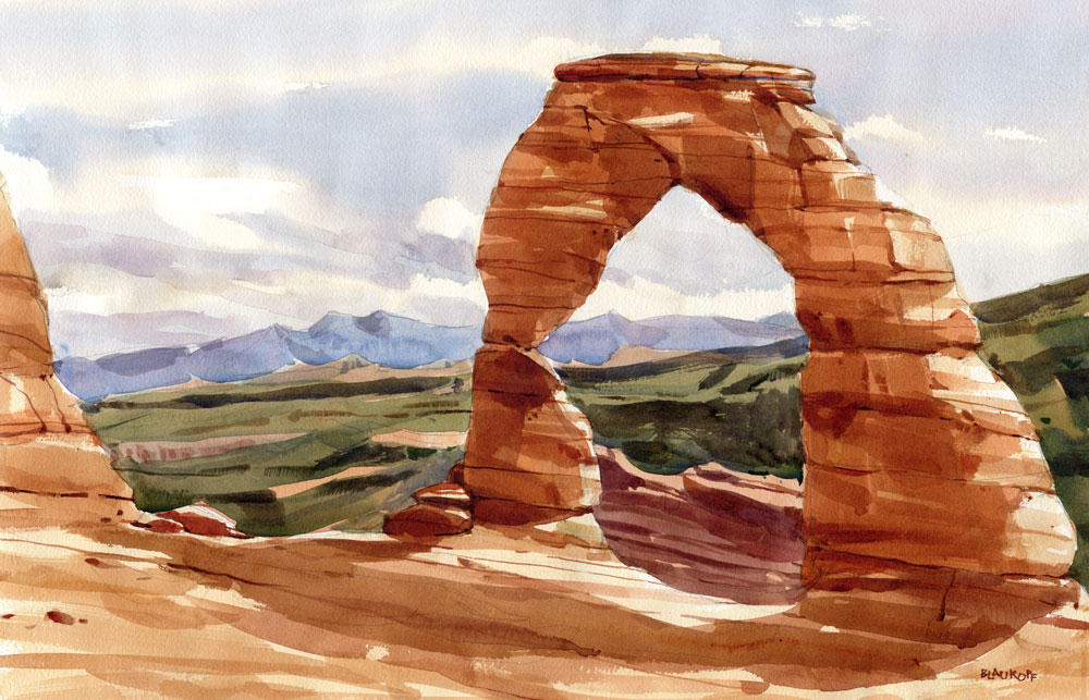 Arches, Delicate Arch