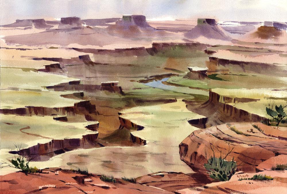 Canyonlands, Green River Overlook