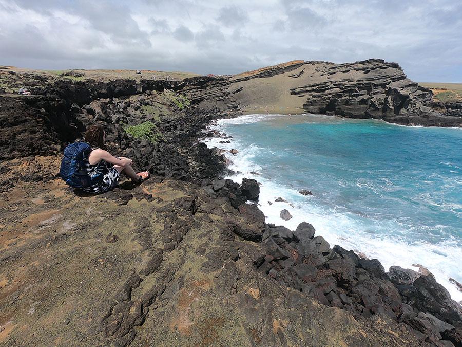 Green-sand-beach