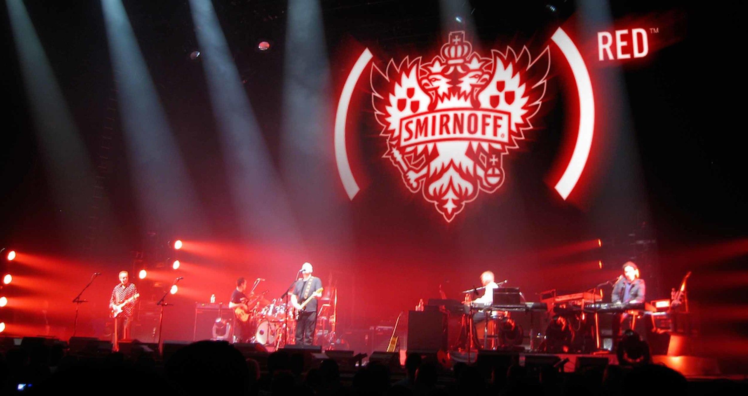 A Smirnoff (RED) Night event.