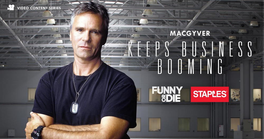 Staples.com is more than toner and paper supplies. It offers an incredible variety of products. So we'll get users to search for 5 random products, and then submit them to MacGyver.