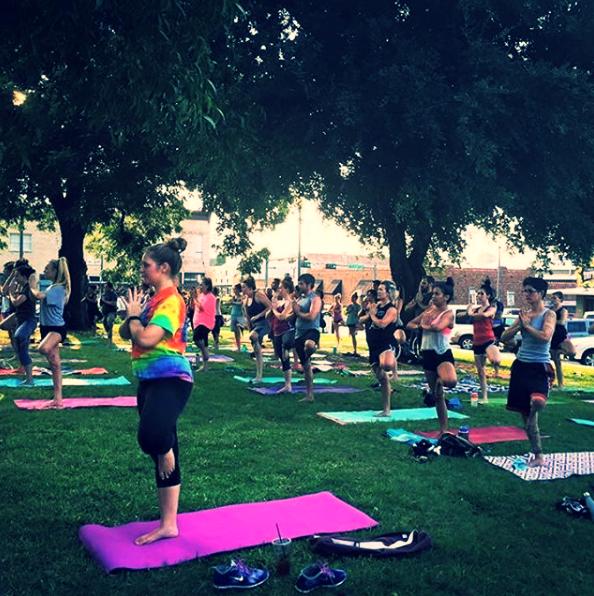karma yoga lawn