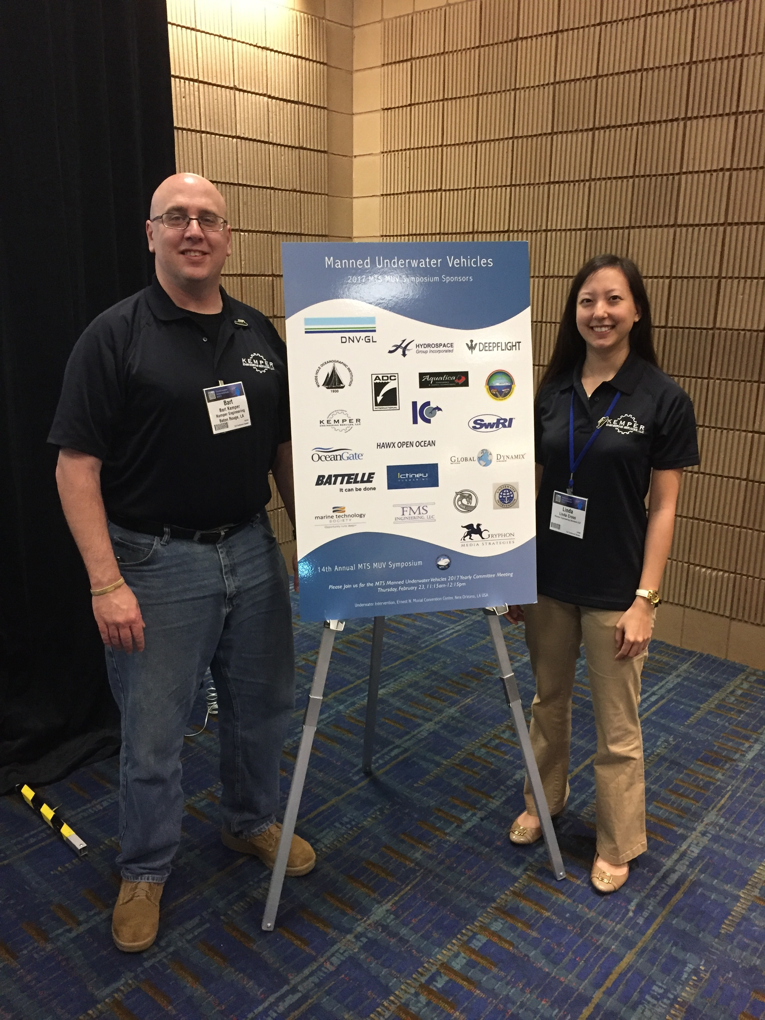 Bart Kemper & Linda Cross, Kemper Engineering