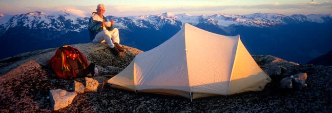 Coast mountain explorer John Clarke in his element
