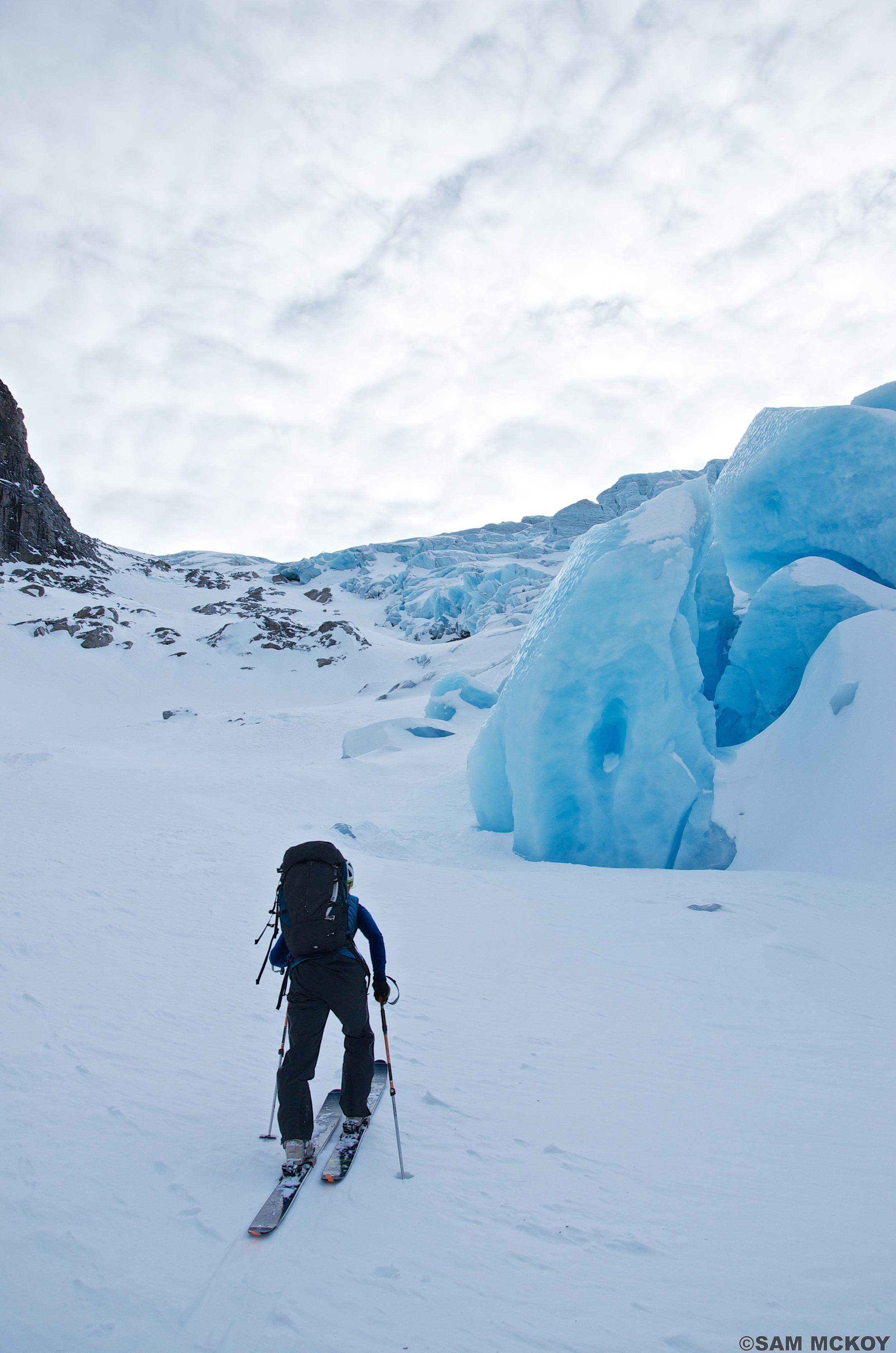 Duffey Glacier Sam Mckoy