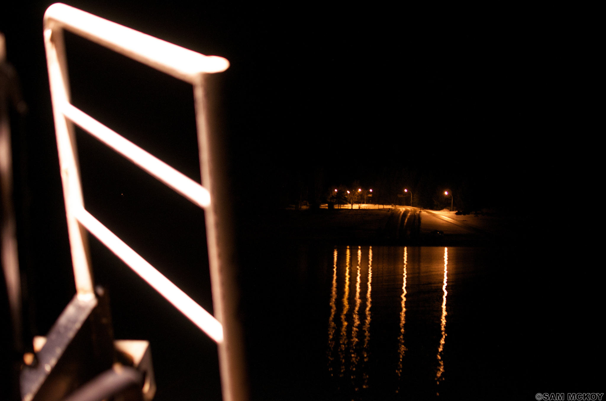 Late night ferry.
