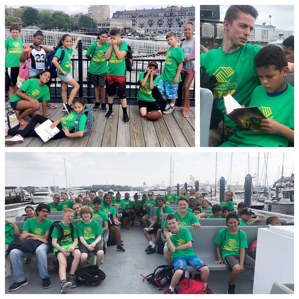 campers had a wonderful visit to spectacle island