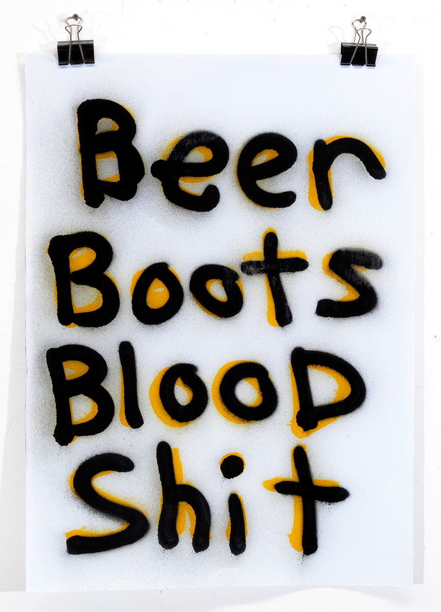 Beer Boots Blood Shit