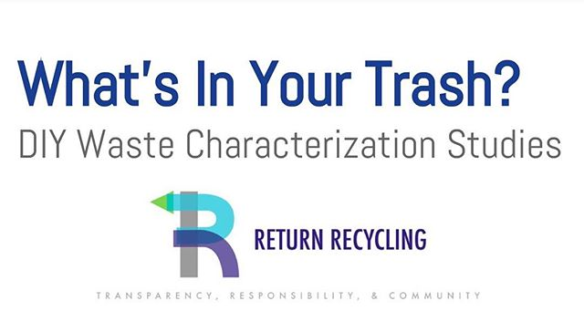 Come find us at #SZW17 tomorrow! We'll be in Ritter Hall, Room 113 @5:00! #trash #zerowaste #wastecharacterization #🗑⁉️