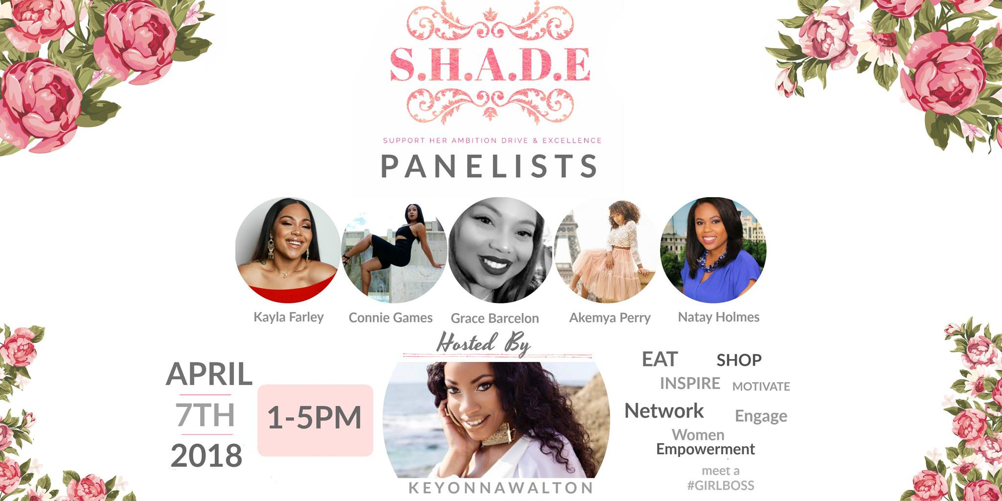 Lifting as we climb! Join us for an afternoon of empowerment and inspiration from amazing community leaders. We will have our favorite ethical goodies available at our pop up shop for you to enjoy!  Get your tickets here!  Eventbrite