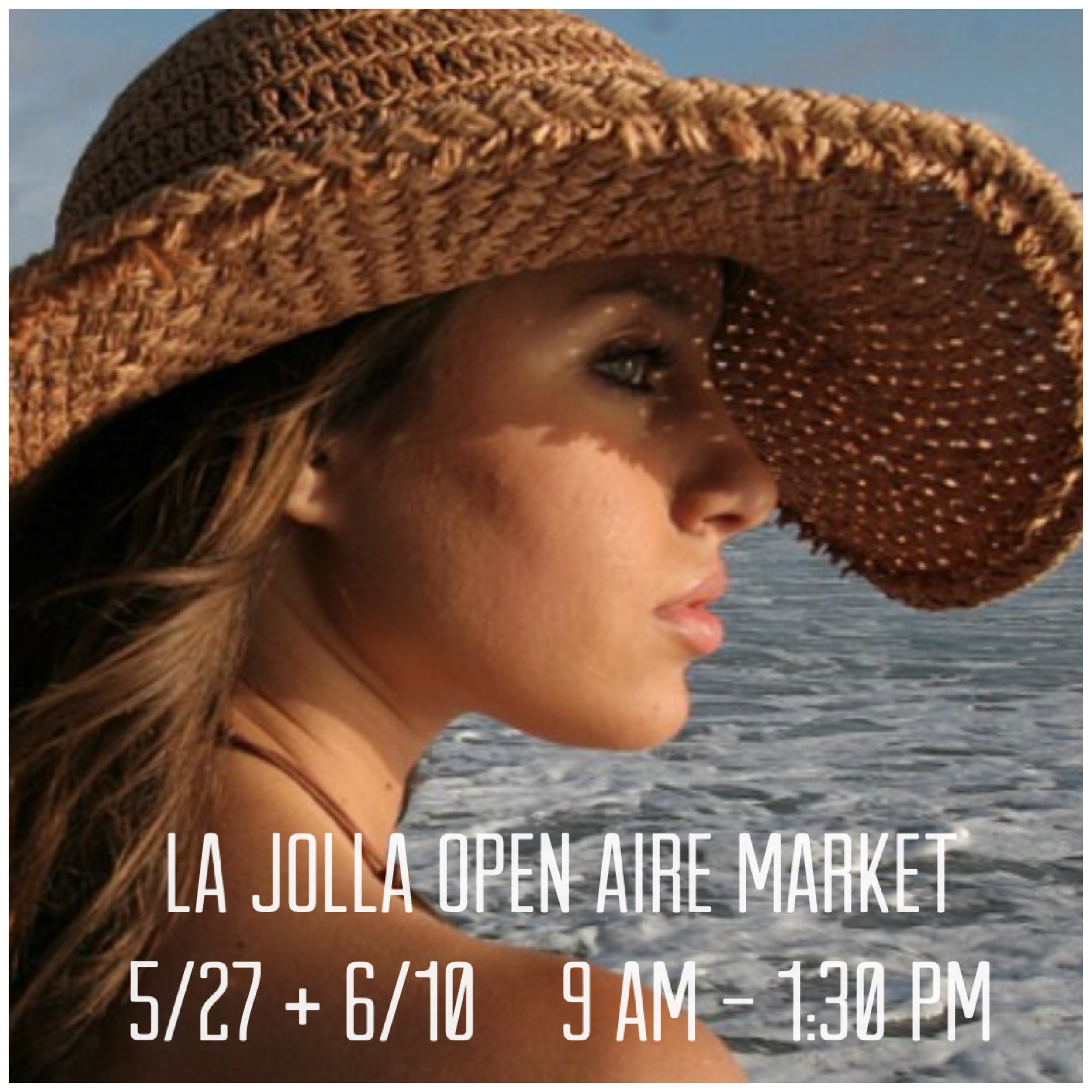 "We're all about those Sunday vibes at the La Jolla Open Aire Market! Stop by for our ""market only"" specials! Don't forget to bring your reusable shopping totes!  7335 Girard Ave La Jolla, CA 92037"
