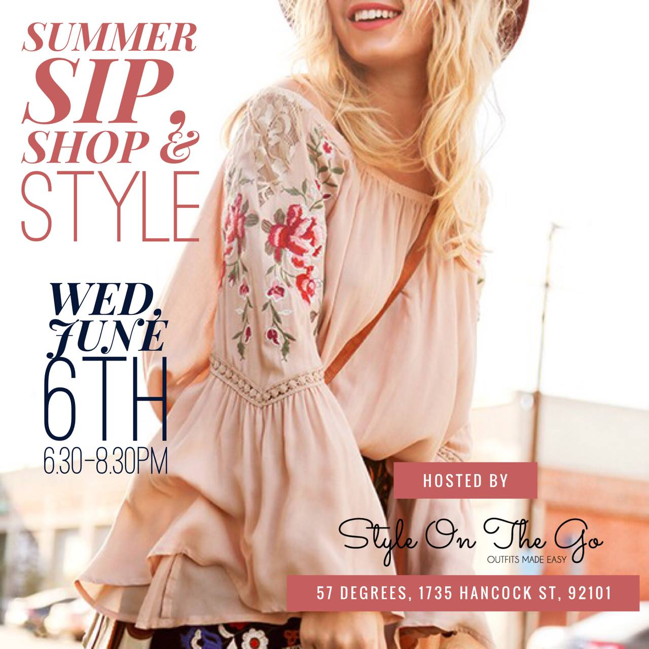 Kick off your summer shopping and join us for a glass (or two) of wine! We will be featuring our latest eco-friendly fashions, vegan cosmetics, and fair trade accessories. A portion of our sales will be donated to the shelter bunnies at the  San Diego House Rabbit Society.  Get your tickets in advance  here.