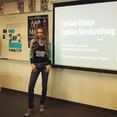 Bringing fashion ethics into the classroom as a Professor at  Palomar College