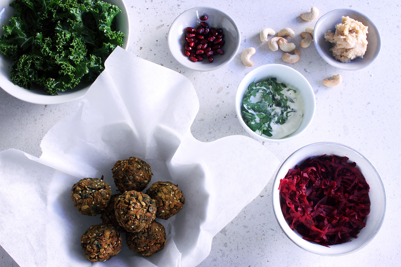 Carrot & Cumin Falafel⎜The Botanical Kitchen