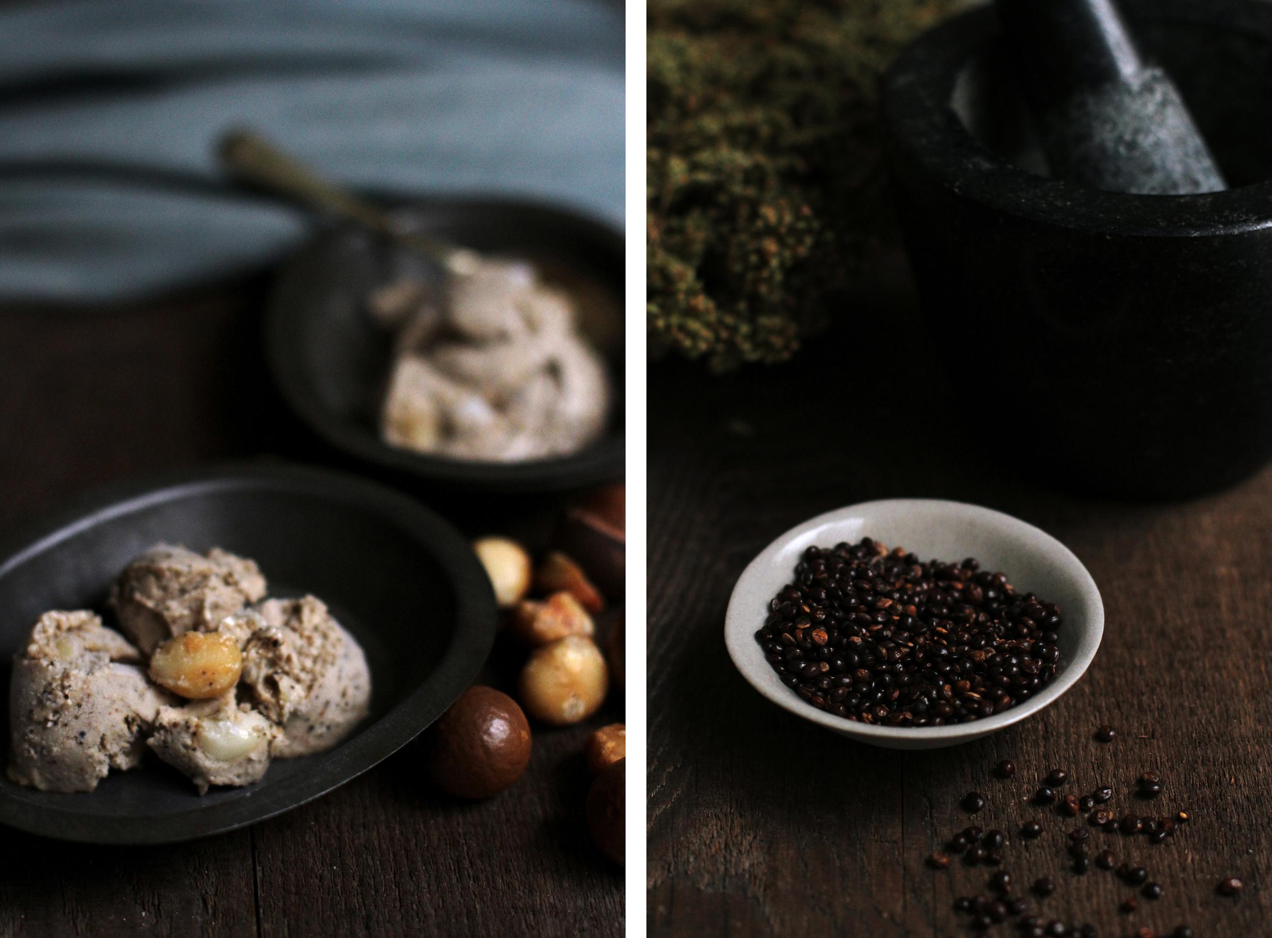 Wattleseed & Macadamia Ice-cream⎜The Botanical Kitchen