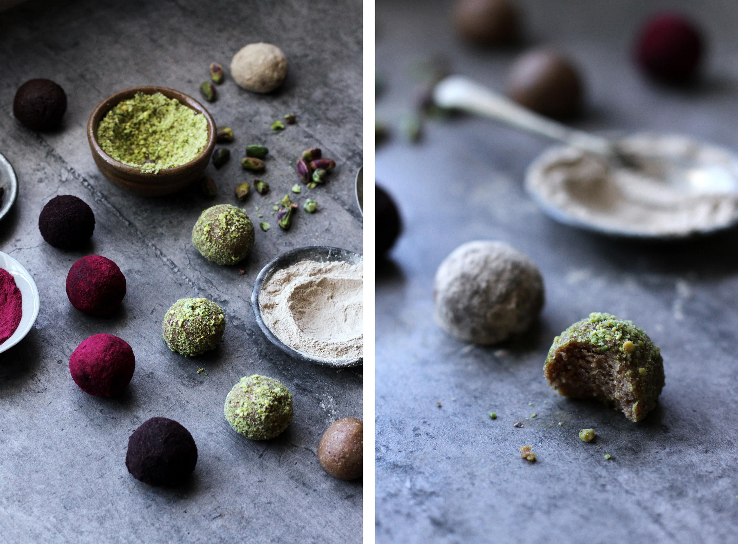 Decadent Dusted Truffles⎜The Botanical Kitchen