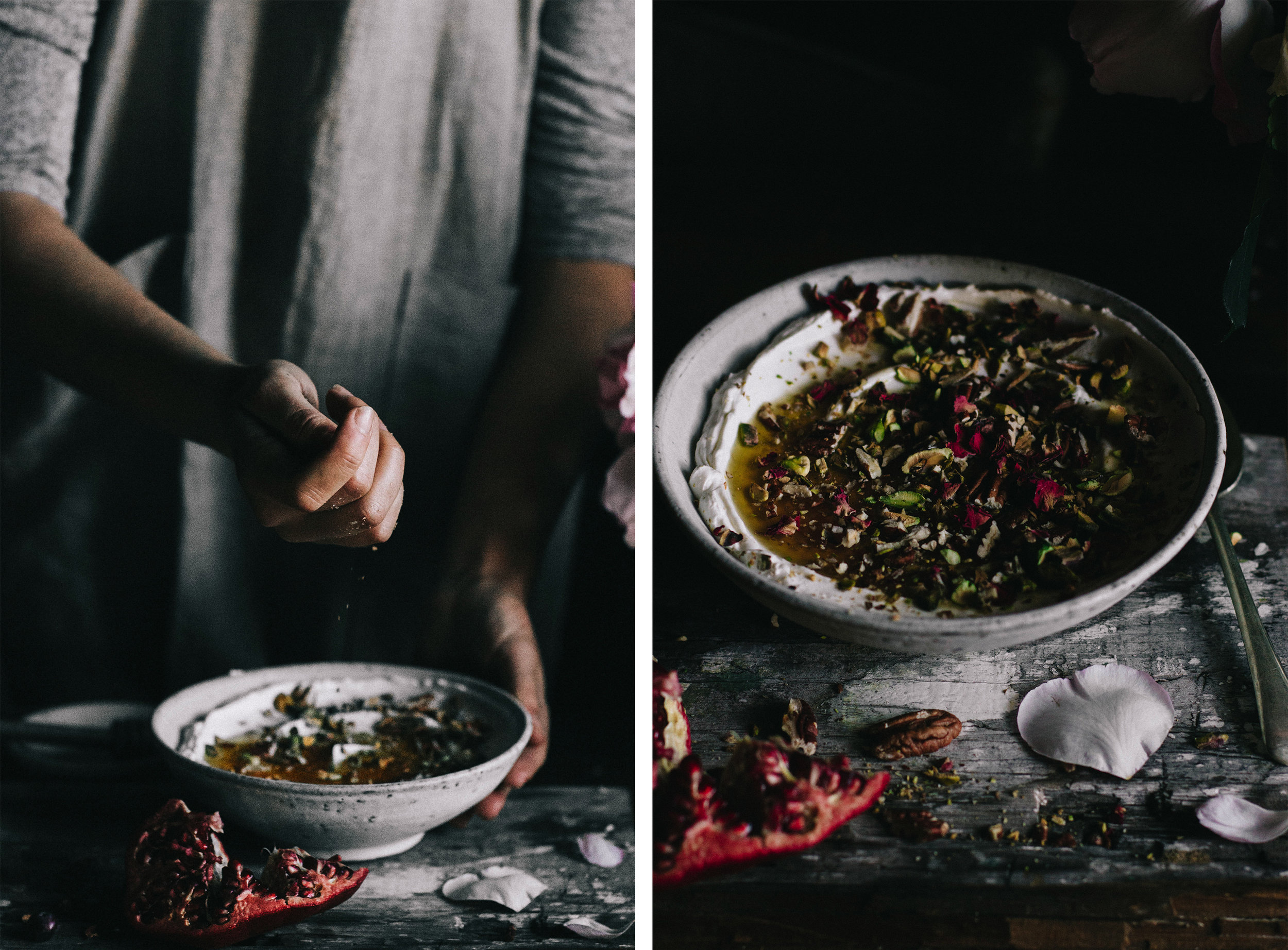 Breakfast Labneh with Pistachio, Honey & Rose⎜The Botanical Kitchen